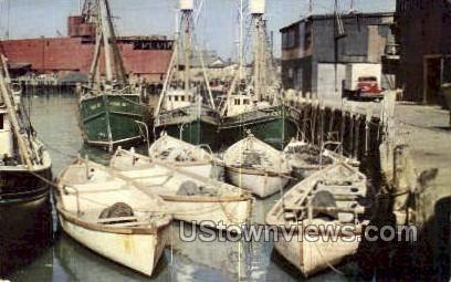 Fishing Fleet - Cape Ann, Massachusetts MA Postcard