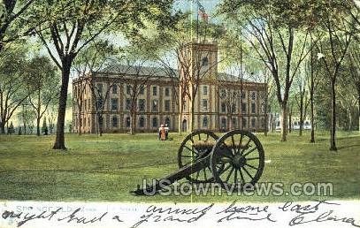 US Arsenal - Springfield, Massachusetts MA Postcard