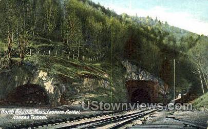 Eastern Portal, Hoosac Tunnel - North Adams, Massachusetts MA Postcard