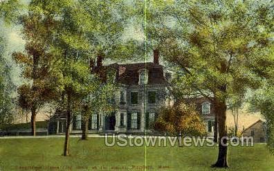 Longfellow Home - Pittsfield, Massachusetts MA Postcard