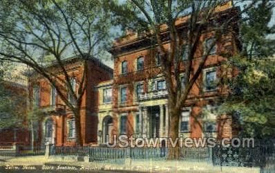 Historical Museum & Picture Gallery - Salem, Massachusetts MA Postcard