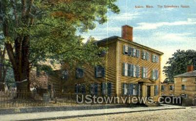 Grimshawe House - Salem, Massachusetts MA Postcard
