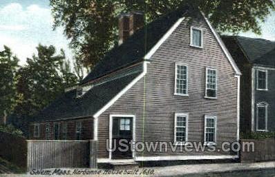Narbonne House, 1680 - Salem, Massachusetts MA Postcard