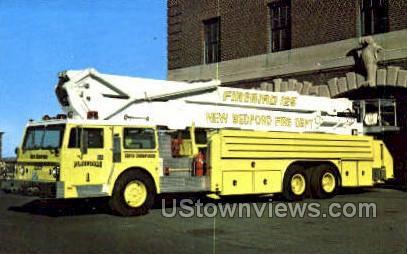 1978 Hendrickson Chassis, Calvary Corp - New Bedford, Massachusetts MA Postcard