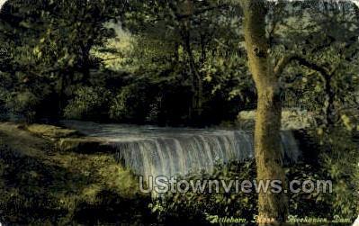 Mechanices Dam - Attleboro, Massachusetts MA Postcard
