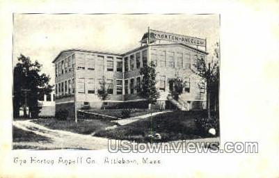 Horton Angell Co - Attleboro, Massachusetts MA Postcard