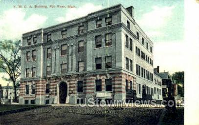 YMCA Bldg - Fall River, Massachusetts MA Postcard