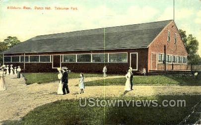Dance Hall, Talaquego Park - Attleboro, Massachusetts MA Postcard