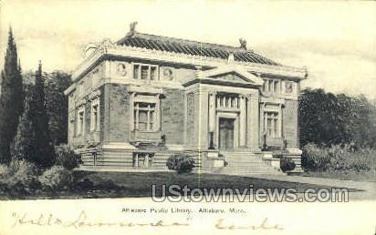 Attleboro Public Library - Massachusetts MA Postcard