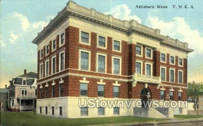 YMCA Bldg - Attleboro, Massachusetts MA Postcard