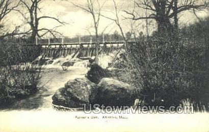Farmer's Dam - Attleboro, Massachusetts MA Postcard