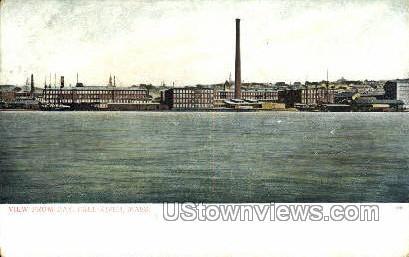 Bay - Fall River, Massachusetts MA Postcard