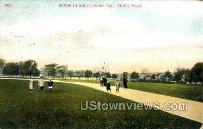 South Park - Fall River, Massachusetts MA Postcard