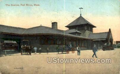 The Station - Fall River, Massachusetts MA Postcard