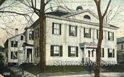 Assembly House, 1782 - Salem, Massachusetts MA Postcard