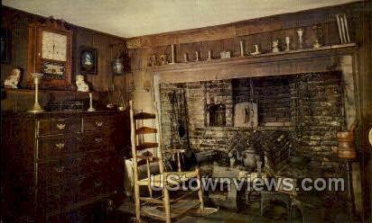 Kitchen, House of the Seven Gables - Salem, Massachusetts MA Postcard