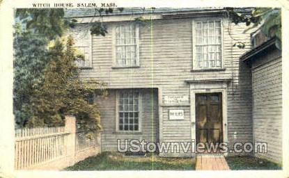 Witch House - Salem, Massachusetts MA Postcard