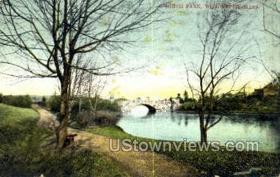 North Park - Worcester, Massachusetts MA Postcard