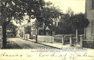 Home of Hawthorne - Salem, Massachusetts MA Postcard