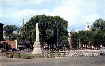 Monument Square - Leominster, Massachusetts MA Postcard