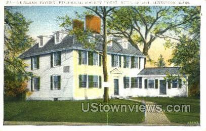 Buckman Tavern, 1691 - Lexington, Massachusetts MA Postcard