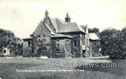 Gym, Smith College - Northampton, Massachusetts MA Postcard