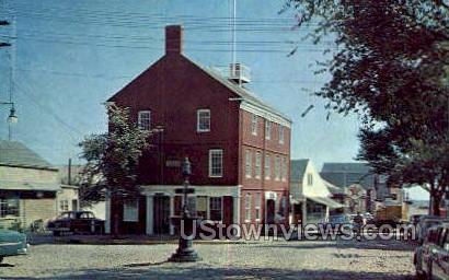 Captain's Room, Old Custom House - Nantucket, Massachusetts MA Postcard
