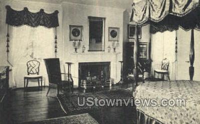 West Front Chamber, Pingree House - Salem, Massachusetts MA Postcard