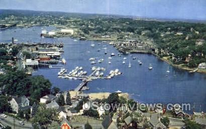 Rocky Neck Marina - Cape Ann, Massachusetts MA Postcard