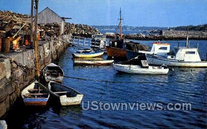 Pigeon Cove Harbor - Cape Ann, Massachusetts MA Postcard