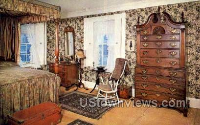 Ropes Mansion - Salem, Massachusetts MA Postcard