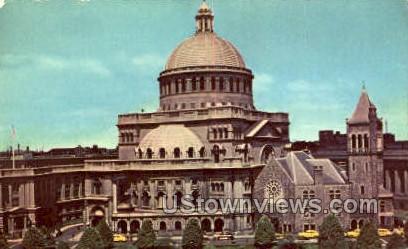 Mother Church of Christian Science - Misc, Massachusetts MA Postcard