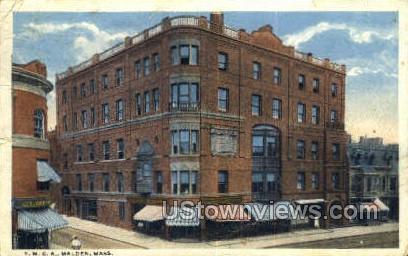 YMCA - Malden, Massachusetts MA Postcard