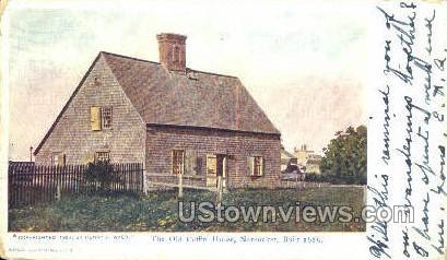 Old Coffin house 1686 - Nantucket, Massachusetts MA Postcard
