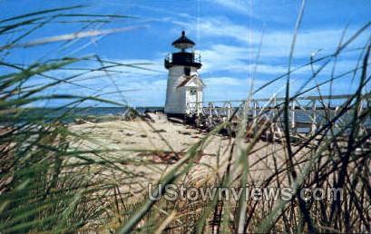 Beach Grass, Brant Point - Nantucket, Massachusetts MA Postcard