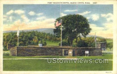 Fort Massachusetts - North Adams Postcard