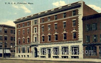YMCA - Pittsfield, Massachusetts MA Postcard
