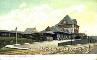 Union Depot - Springfield, Massachusetts MA Postcard