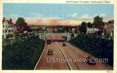 Newburyport Turnpike - Massachusetts MA Postcard