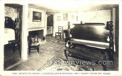Lafayette Room, Longfellows Wayside Inn - South Sudbury, Massachusetts MA Postcard