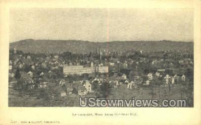 Gardner Hill - Leominster, Massachusetts MA Postcard