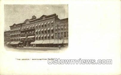 The Draper - Northampton, Massachusetts MA Postcard
