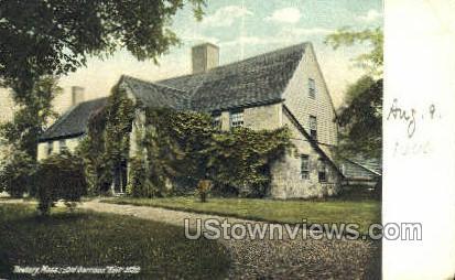 Old Garrison, 1636 - Newbury, Massachusetts MA Postcard