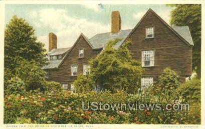 House of Seven Gables - Salem, Massachusetts MA Postcard