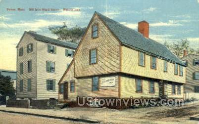 Old John Ward House, 1684 - Salem, Massachusetts MA Postcard