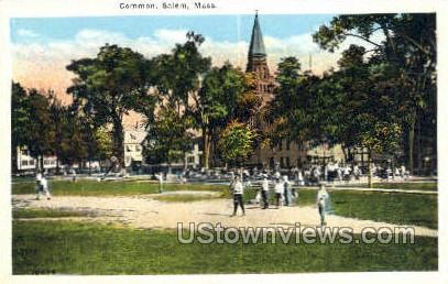 Common - Salem, Massachusetts MA Postcard