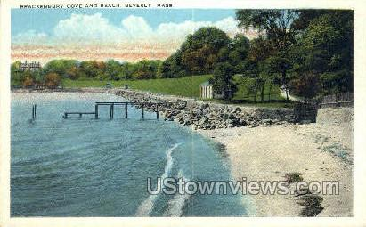 Brackenbury Cove & Beach - Beverly, Massachusetts MA Postcard