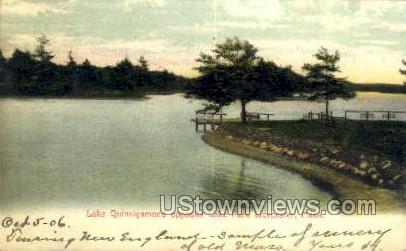 Lake Quinsigamond, Lake Park - Worcester, Massachusetts MA Postcard
