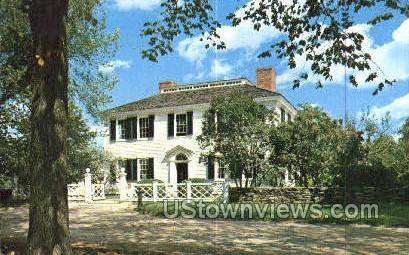 Salem Towne House - Sturbridge, Massachusetts MA Postcard