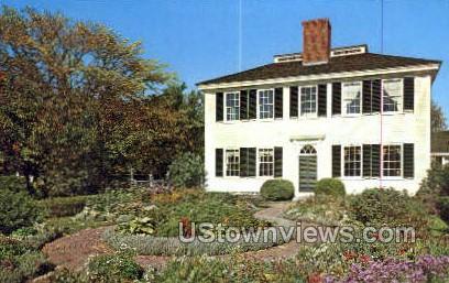 Towne House, Old Sturbridge Village - Massachusetts MA Postcard